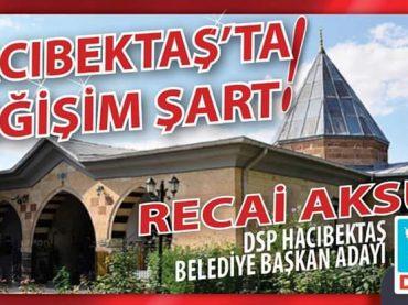 RECAİ AKSU'YA AVRUPA'DAN DESTEK