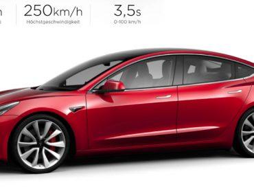 Tesla Model 3: Yeni elektrikli otomobil