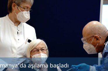 ALMANYA'DA AŞILAMA BAŞLADI